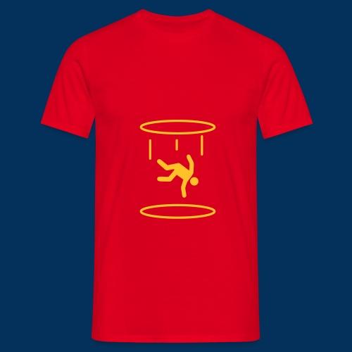 Portal - Falling - Men's T-Shirt