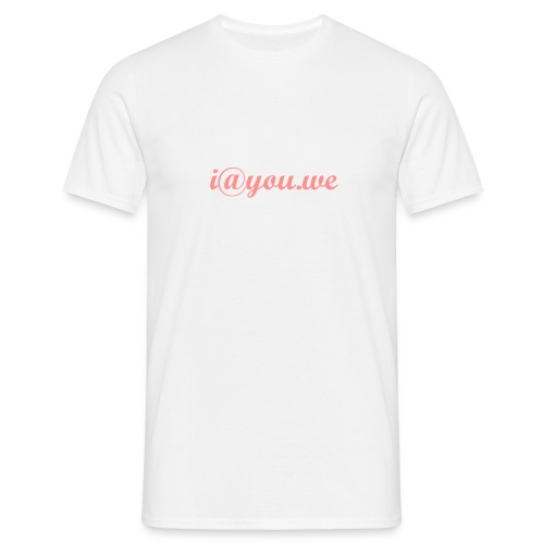 i@you.we - Men's T-Shirt