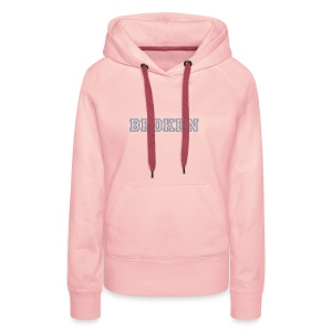 Smar-Tees Ladies Broken Hoody - Women's Premium Hoodie