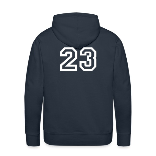 CHOOSE YOUR NUMBER! - Men's Premium Hoodie