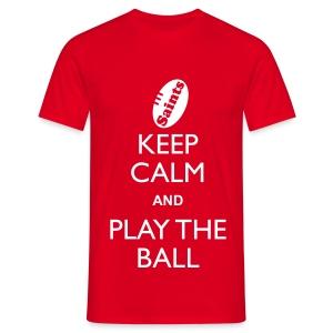Saints - Keep Calm T - Men's T-Shirt