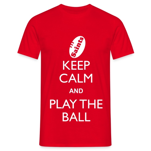 Saints - Keep Calm T - Men's T-Shirt