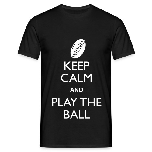 Widnes - Keep Calm T - Men's T-Shirt