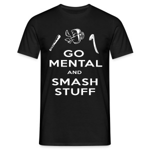 Go Mental T-Shirt - Men's T-Shirt
