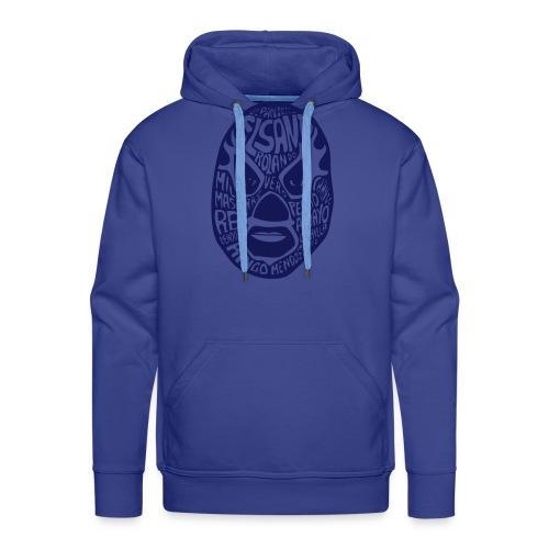 El Luchador Hoody blauw - Mannen Premium hoodie