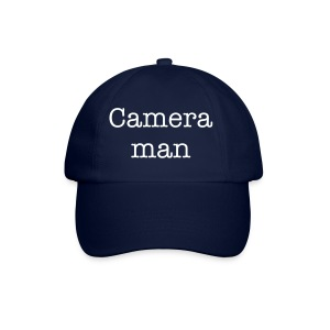 Camera man baseball hat - Baseball Cap