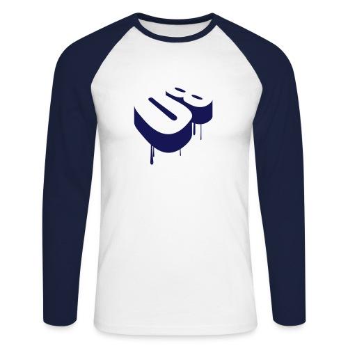 Eightiesblue - T-shirt baseball manches longues Homme