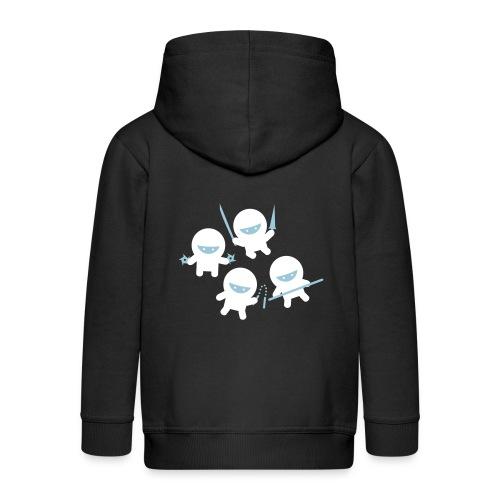 small ninja - Kids' Premium Zip Hoodie