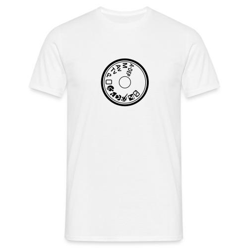 Programmwahlrad - standard shirt - Männer T-Shirt