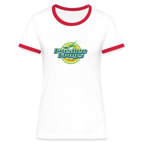 Naisten Ringer-paita Frogs-tunnuksella - Naisten kontrastipaita