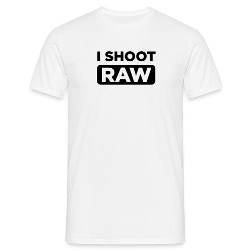 I shoot RAW - standard Shirt - Männer T-Shirt