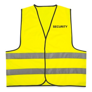 SECURITY (FRONT ONLY) - Reflective Vest