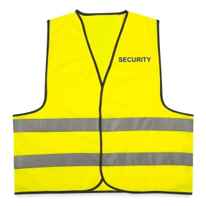 SECURITY (FRONT / REVERSE) - Reflective Vest