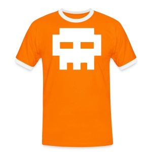 T-shirt US Orange - Logo Invaders - T-shirt contrasté Homme