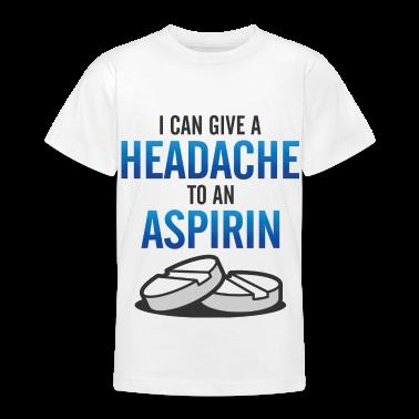 Give Headache To Aspirin 3 (dd)++ Kids' Shirts