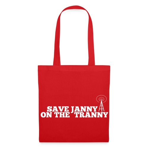 Save Janny on the Tranny - Tote Bag