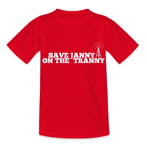 Save Janny on the Tranny - Teenage T-Shirt
