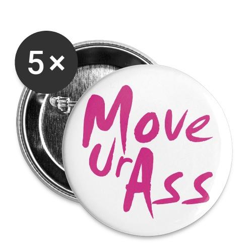 Buttons - MoveUrAss small - Buttons klein 25 mm