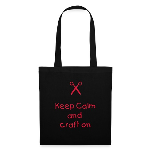 keep Calm and Craft On Tote Bag  - Tote Bag