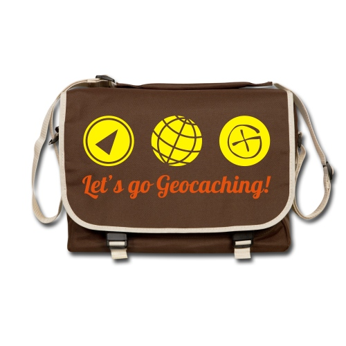 Let's go Geocaching - Umhängetasche