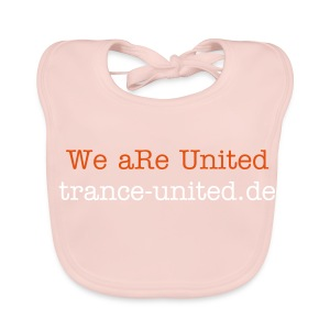 We aRe United - Baby Bio-Lätzchen