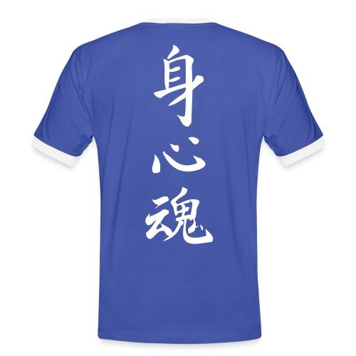 Kropf sind og sjæl - Herre kontrast-T-shirt