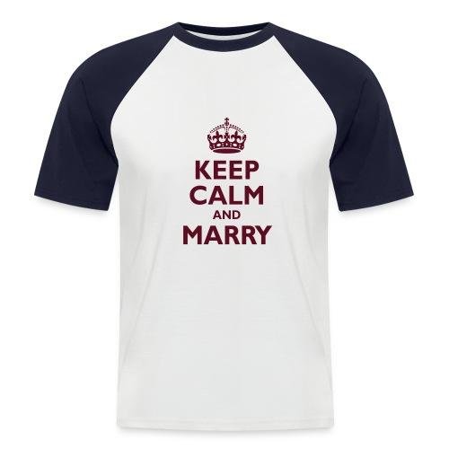 marry - Men's Baseball T-Shirt