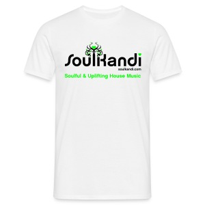 Choose Your Own Colour Tee Shirt (Black & Green Logo) - For Lighter Coloured Tee's (Click Details For Options) - Men's T-Shirt