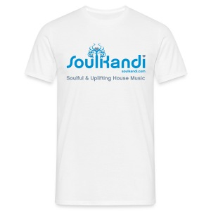Choose Your Own Colour Tee Shirt (Blue & Silver Logo) - For Lighter Coloured Tee's (Click Details For Options) - Men's T-Shirt