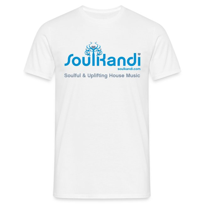 Choose Your Own Colour Tee Shirt (Blue & Grey Logo) - For Lighter Coloured Tee's (Click Details For Options)