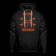 Hoodies & Sweatshirts ~ Men's Premium Hoodie ~ Satanic Mechanic Hoody