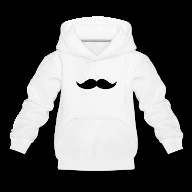Funny Beard & Mustache Kids' Tops