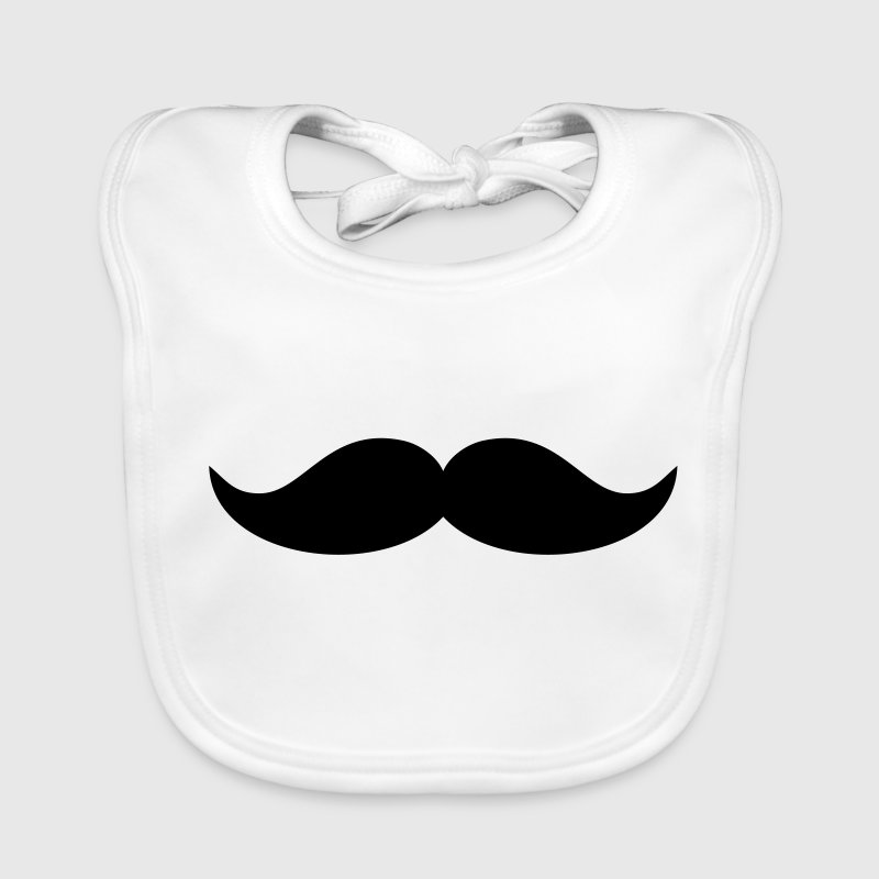 bavoir funny barbe mustache spreadshirt. Black Bedroom Furniture Sets. Home Design Ideas