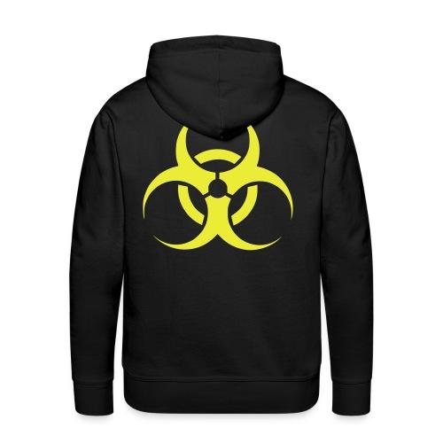 biohazard hoodie div. kleuren/neongeel - Mannen Premium hoodie