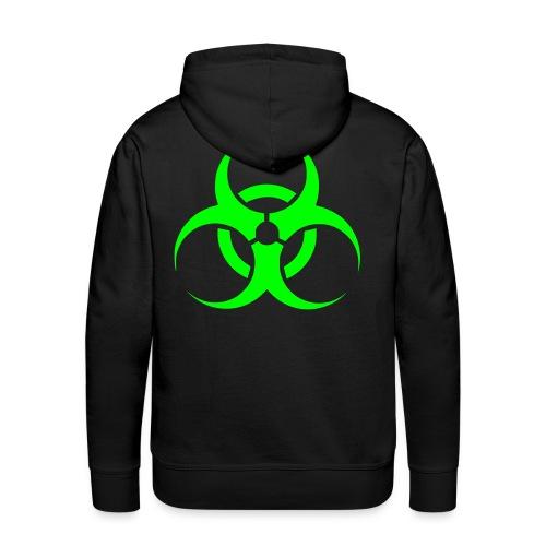 biohazard hoodie div.kleuren/neongroen - Mannen Premium hoodie