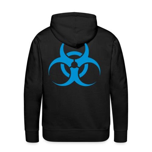 biohazard hoodie div.kleuren/blauw - Mannen Premium hoodie