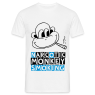 T-Shirts ~ Men's T-Shirt ~ narcotic monkey (M)