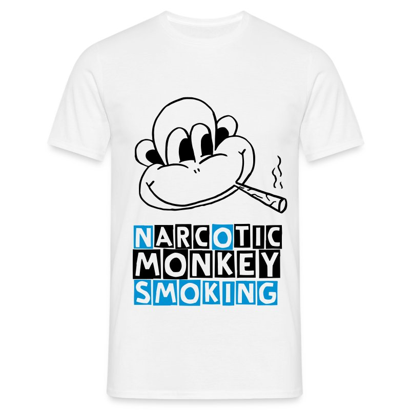 narcotic monkey (M) - Men's T-Shirt