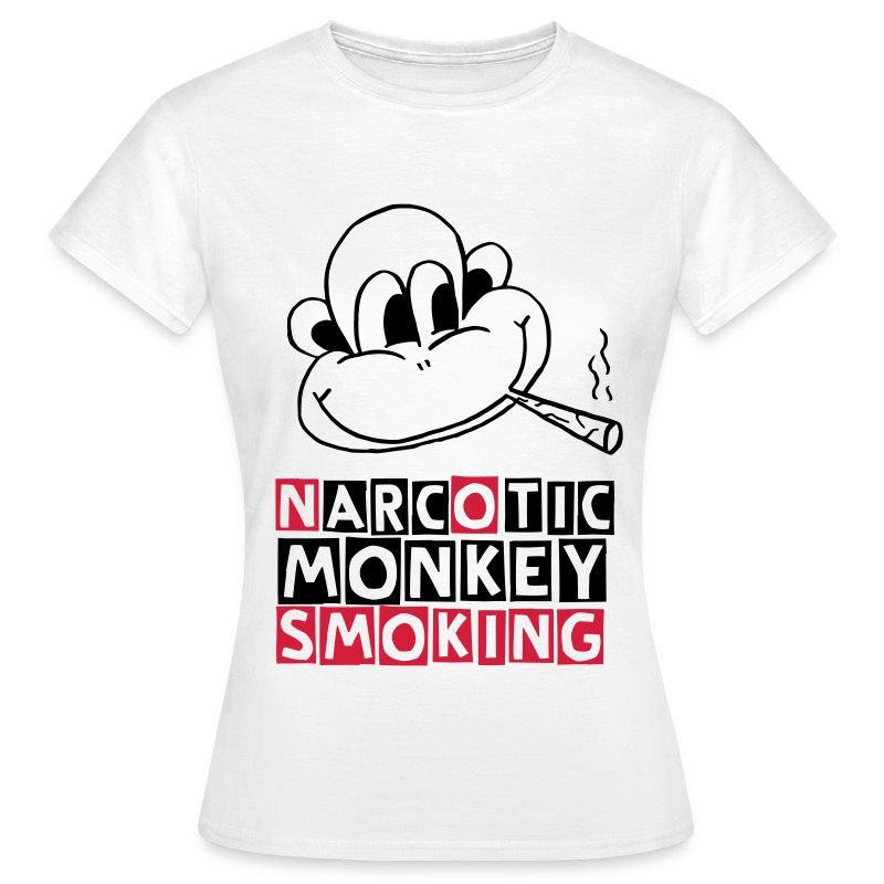 narcotic monkey (F) - Women's T-Shirt