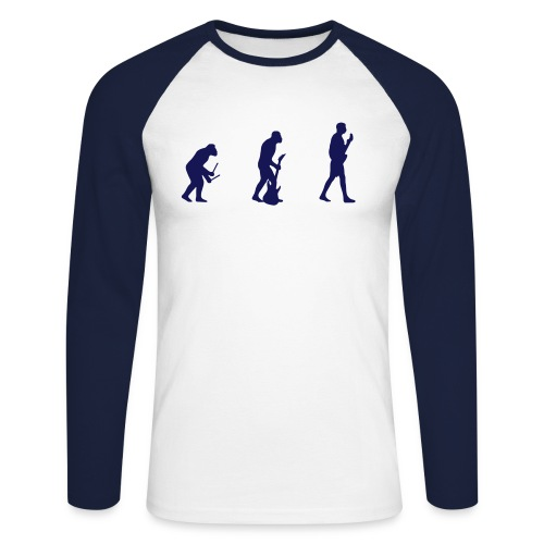 Sweat EVOLUTION - Men's Long Sleeve Baseball T-Shirt