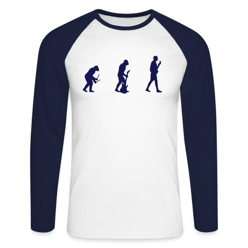 Sweat EVOLUTION - Men's Long Sleeve Baseball T-Shirt