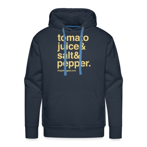 Tomato juice & Salt & Pepper - Männer Premium Hoodie
