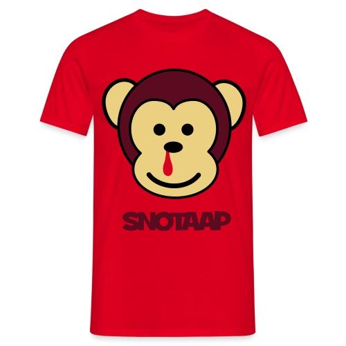 SnotAap Shirt - Mannen T-shirt