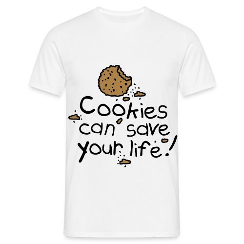 COOKIES CAN SAVE YOUR LIFE - Men's T-Shirt