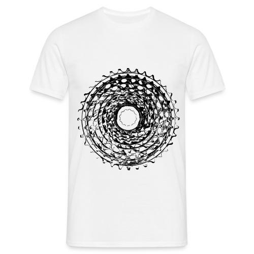 rower_kaseta2 - Koszulka męska