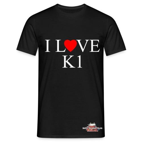 I love  K1 - Maglietta da uomo