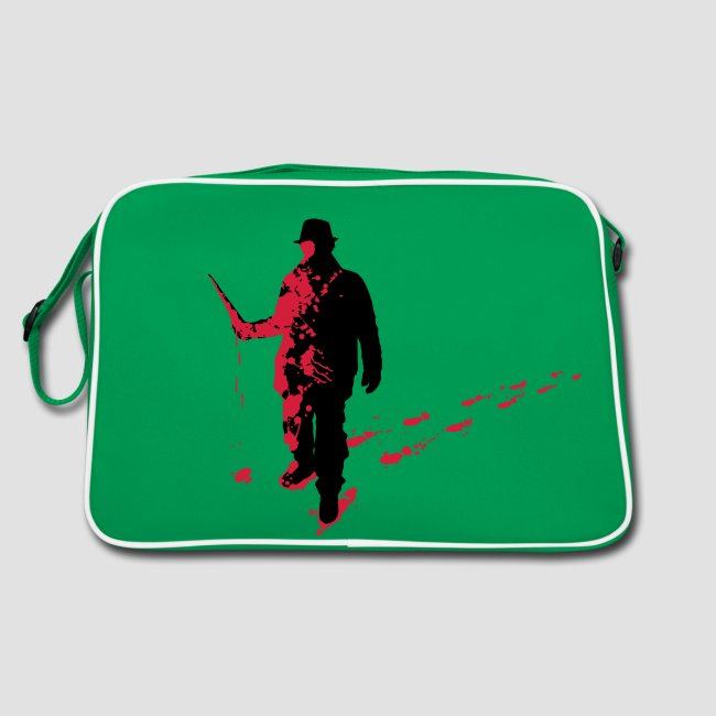 Splatter Horror Design Individual Couture Retro Tasche Horrorcore