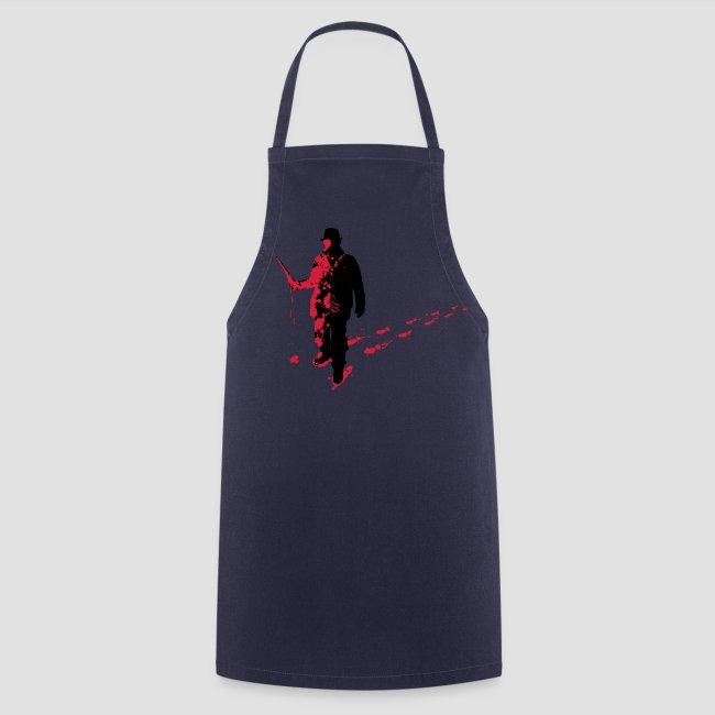 Splatter Horror Design Individual Couture Kochschürze Horrorcore