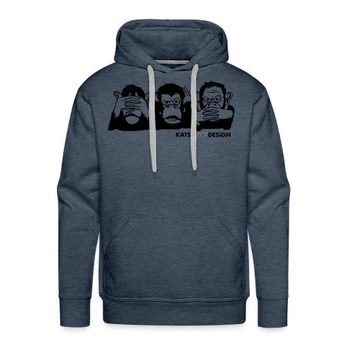 monkey's company - Men's Premium Hoodie
