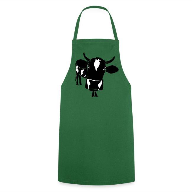 kuh rind muh milch bauer farm alm heidi fleckvieh  lila cow Schürzen